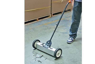 22 In. Magnetic Floor Sweeper with Release Floor Metal Picker Upper Clean Garage