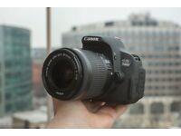 Canon 700d Great Vlogging Full HD 1080p Camera with Flip Out Screen