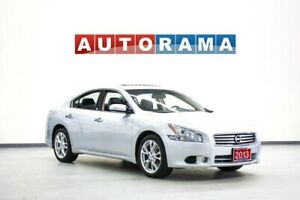 2013 Nissan Maxima SV LEATHER SUNROOF BACK UP CAMERA