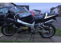 2001 Suzuki GSXR1000K1, may consider a part exchange