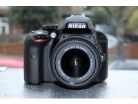 Nikon D3300 with AF-S Nikkor 18-55mm G VR II lens