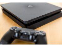 PS4 Slim 1TB + Controller