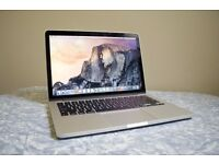 "128GB 2015 13"" Retina Apple Macbook Pro, 6 months old, hardly a mark on it"