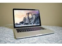 "Macbook Pro 13"" Retina Display Good as new, barely used."