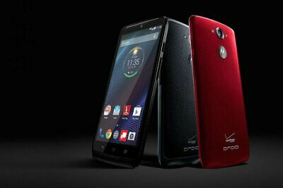 New UNOPENDED Motorola Droid Turbo XT1254 Verizon Smartphone/Black Ballistic/32G