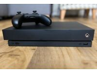 Xbox One X Boxed with 5 games