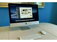 Slim Apple iMac 21.5' 2.7Ghz Quad Core i5 8Gb Ram 1TB Adobe 2020 Master Suite Cinema 4D