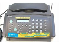 Philips HFC171 Home Fax Answering Phone Very Good Condition