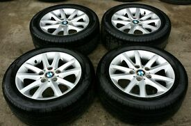 BMW E46 ALLOYS WITH TYRES 225/50/16