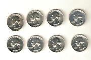 Uncirculated Washington Quarter Rolls