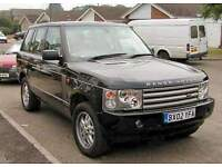 Range Rover 2002 &up L322 NEEDED WANTED