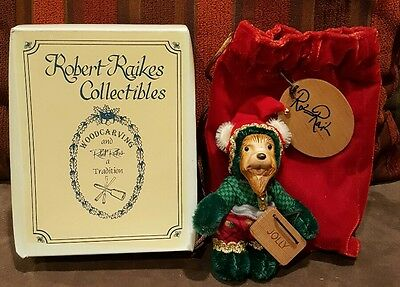 Robert Raikes Mohair Bear Jolly Wee Whittles Limited Edition