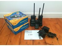 3x ICOM IC-M31 VHF MARINE Transceivers with 2x BC-162 Chargers