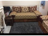 Arabic style sofa settees (Morrocon settee)