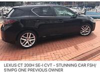 Lexus CT 200 1.8SE-LCVT -auto