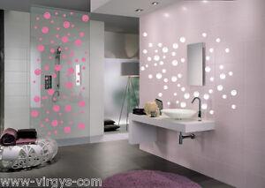Sticker salle de bain ou chambre enfant 58 bulles de for Stickers salle de bain enfant