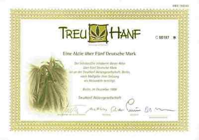 TreuHanf AG 1998 Berlin Beiersdorf Freudenberg Zehdenick Pritzwalk 5 DM Lit. C