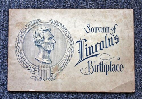 "ORIG. 1903 ""SOUVENIR OF (ABRAHAM) LINCOLN"