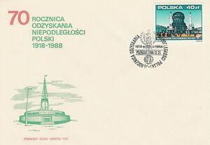 Poland FDC (Mi. 3183) POZNAN fair #1 - <span itemprop=availableAtOrFrom>Bystra Slaska, Polska</span> - Poland FDC (Mi. 3183) POZNAN fair #1 - Bystra Slaska, Polska