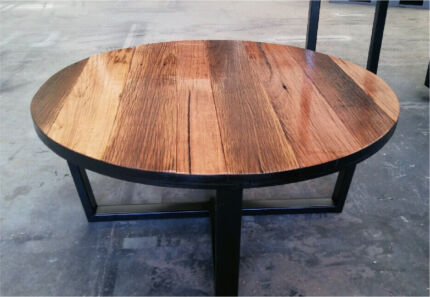 Recycled Timber Palings Industrial Coffee Table