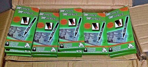 (50 Pens) Money Marker - Counterfeit Fake Bill Detector Counterfit Pen Lot