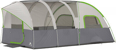 Large 16' x 8' Modified Dome Tent Sleeps 8 Camping Camper Fa