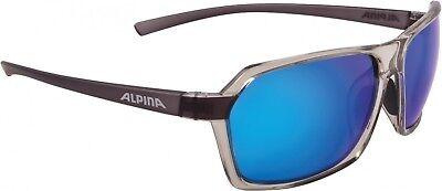 Alpina Sportbrille Finety - smoke transparent Ceramic mirror black