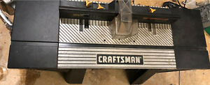 Craftsman professional (commercial grade)router table for sale