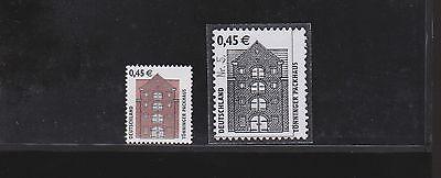 Bund 2299 RE1 mit Nr. 5 mit Punkt, Rollenmarke  mit Druckplattenende ** geprüft