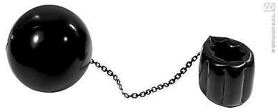 Kostüm aufblasbar Ball und Kette Gefangener Häftling Blasen geschnürt (Gefangener Ball Und Kette Kostüm)