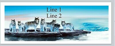 Personalized Address Labels Pack Of Wolves Buy 3 Get 1 Free P 828