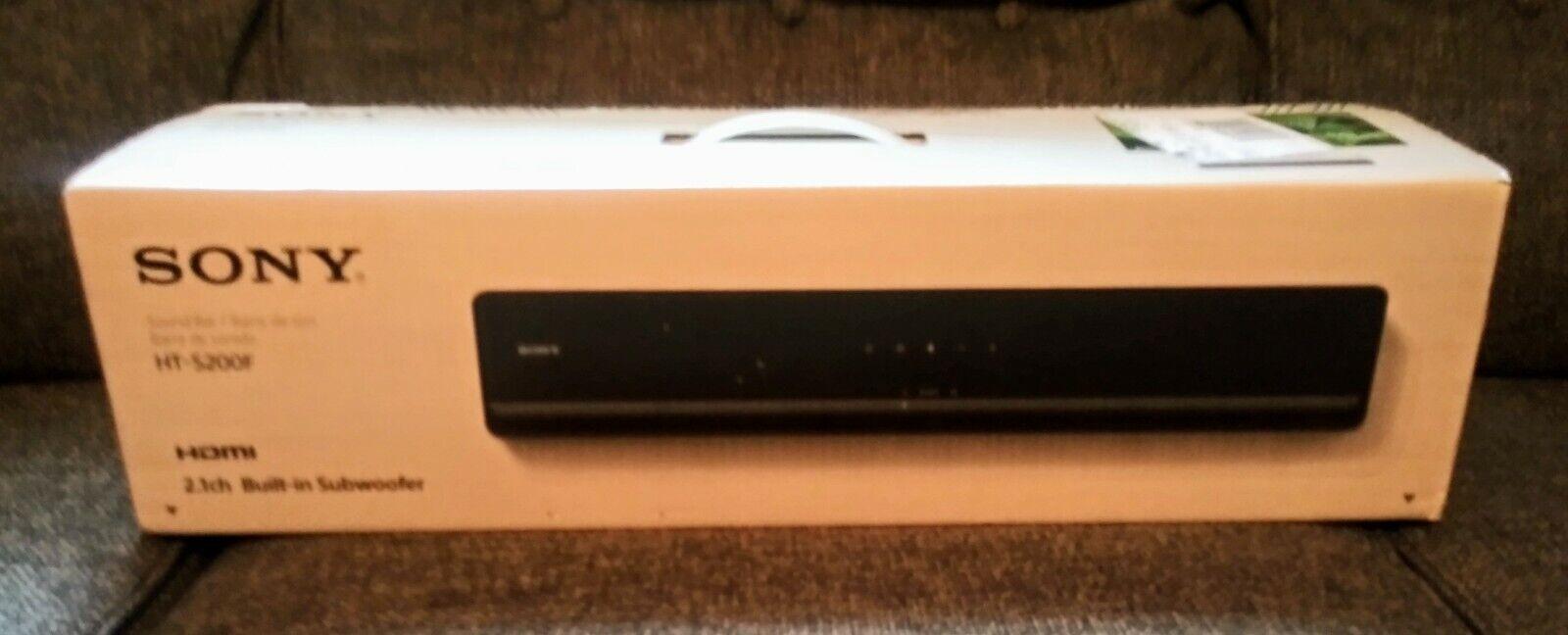 Brand New Sony 2.1-Channel Soundbar with Built-In Wireless S