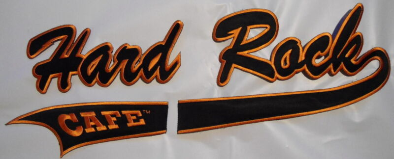 """HARD ROCK  CAFE   LARGE   PATCH    NEW  16""""  x 6"""""""