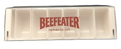 Beefeater Imported Gin Condiment Holder W 6 Pint Trays Fruit Garnish Bar Caddy