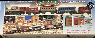 1996 Vintage Dickinsville Christmas Train Set