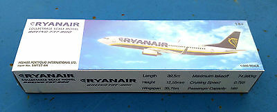 Ryanair Airlines Boeing B737 800 Collectable Scale Model 1 200 Type  2