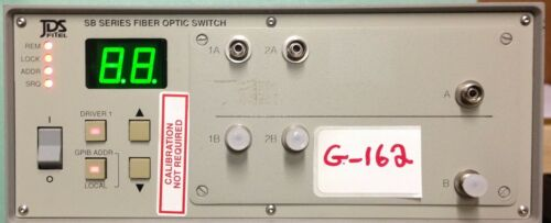 Jds Fitel Sb04-4b5-d2fp Sb Series Fiber Optic Switch   2(1x2)