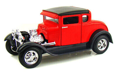 1929 FORD MODEL A RED 1/24 SCALE DIECAST CAR BY MAISTO 31201R