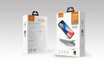 Chargeur Batterie Externe  Sans Fil  LDNIO PW501 5000 mah