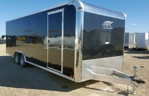 2016 ATC Raven 8.5'x24' (2)5.2K Enclosed Car Hauler Trailer