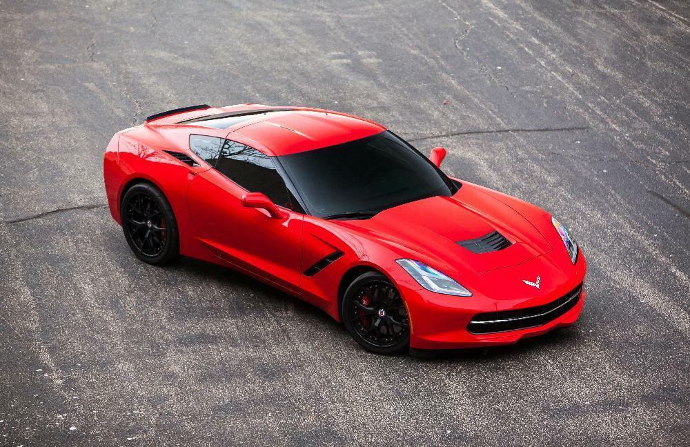 2014 Red Chevrolet Corvette  2LT | C7 Corvette Photo 6