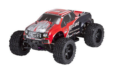Redcat Racing Volcano EPX 1/10 Scale Electric Monster Truck Red 4x4 1:10 rc car