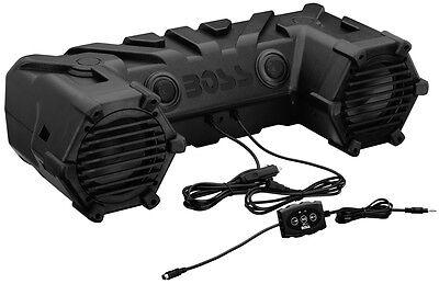 "Boss Dual 450W 6.5"" ATV/Marine Amplified Waterproof Speakers+Bluetooth | ATV28B"