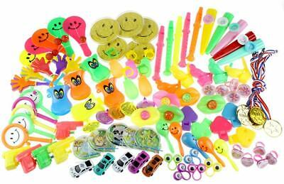 Carnival Party Supplies (100pcs Kids Party Favor Toy Assortment Carnival Prizes School Classroom)