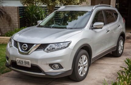 2015 Silver Nissan X-Trail ST-L 7-seater SUV Low KMs Glen Osmond Burnside Area Preview