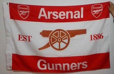 Arsenal Gunners football team Flag