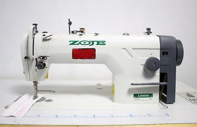 Zoje Zj8800a Plain Straight Lockstitch Reverse Industrial Sewing Machine - New