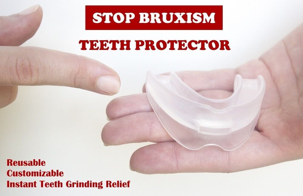 Dental Mouth Guard for Teeth Grinding, Bruxism, TMJ, Stop Te