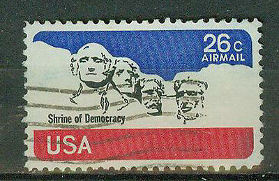 Memorial Marker (Briefmarken USA 1974 Rushmore Memorial Mi.Nr.1128)