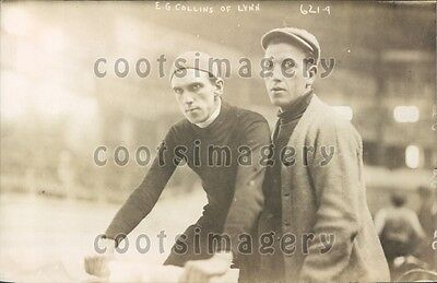 1908 E  G  Collins Of Lynn Ireland A George Grantham Bain Original Press Photo